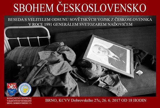 S. Naďovič Sbohem Československo