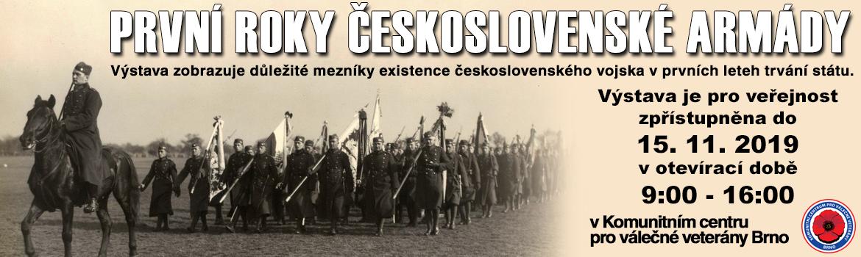 banner výstavy -prvni-roky-cs-arm. do 15.11.